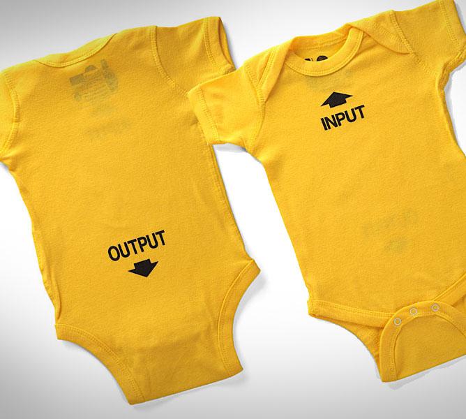 Input Output Baby Onesie