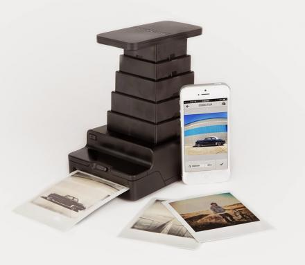 Instant Lab Prints Your Digital Smart Phone Pictures Into Analog Polaroid Prints