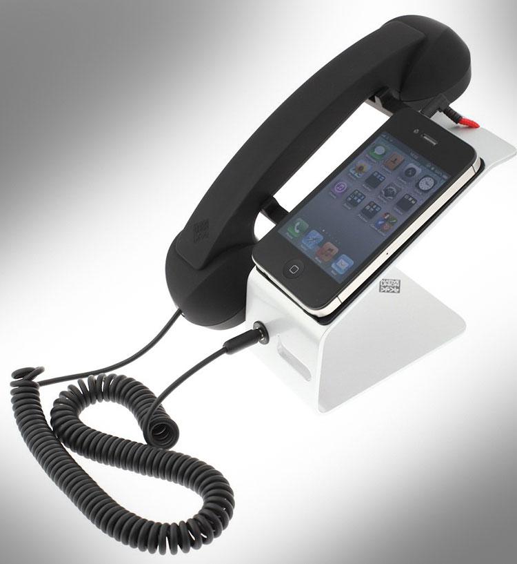 iphone landline dock station. Black Bedroom Furniture Sets. Home Design Ideas