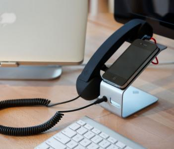 iPhone Landline Dock Station