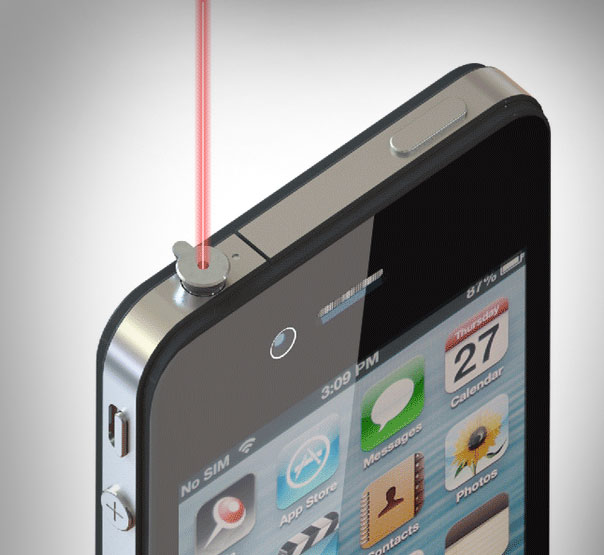 iphone laser pointer ipin laser pointer for your iphone 11980