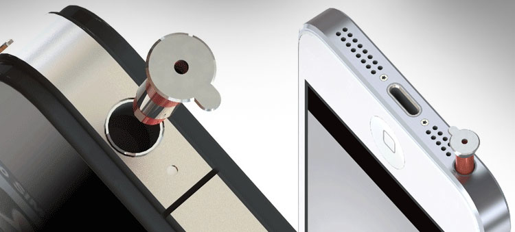 iPin Laser Pointer For Your iPhone