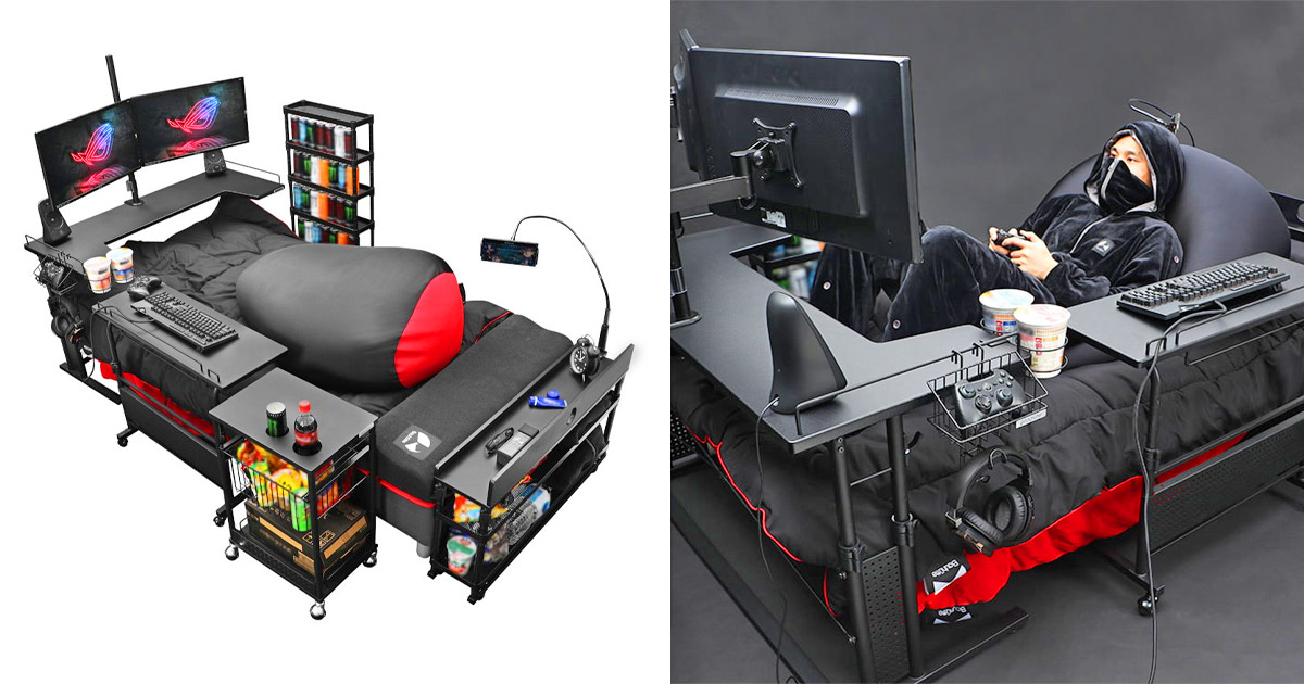 Japan Has Created The Ultimate Gaming Bed So You Never