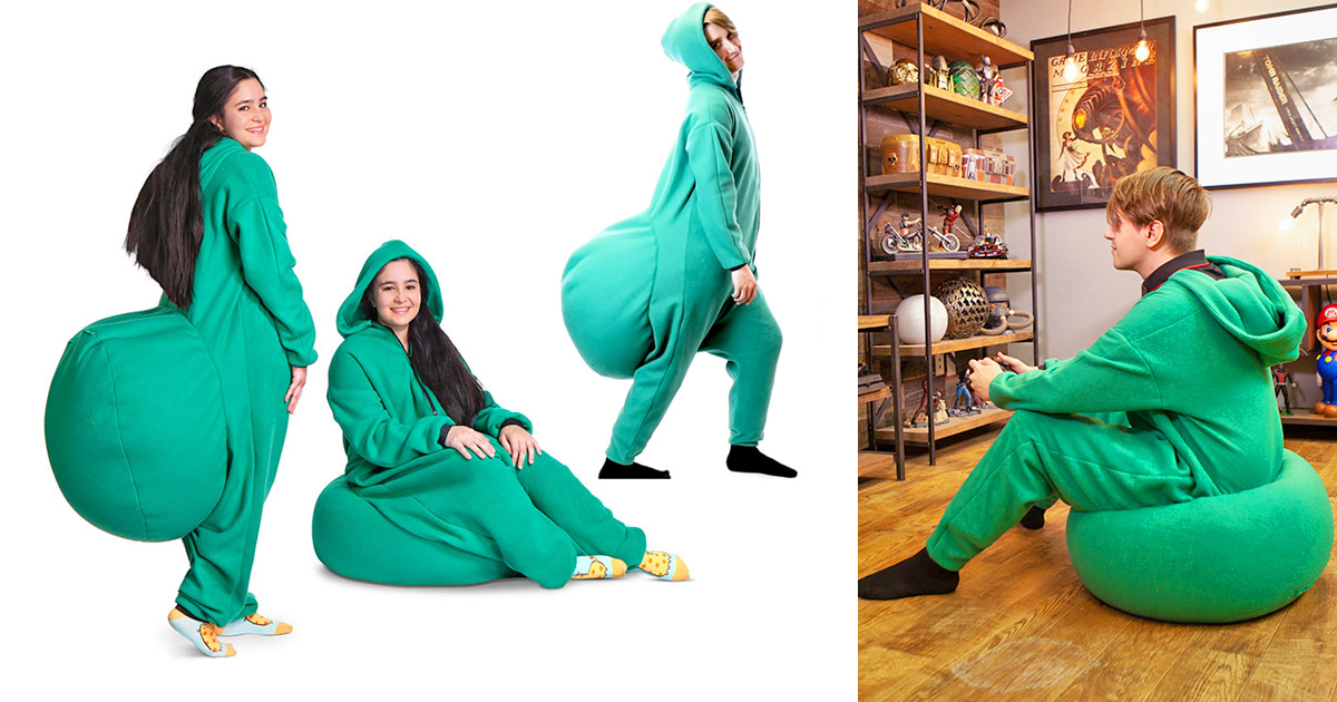 Junk In The Trunk Bean Bag Onesie