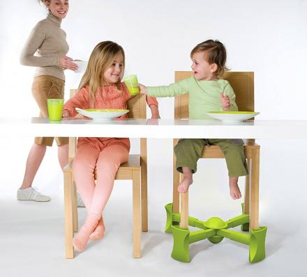 Kaboost: Under-Chair Booster Seat - Raises Height Of Any Chair