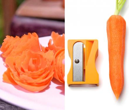 Karoto Peels Your Veggies To Make Edible Flowers