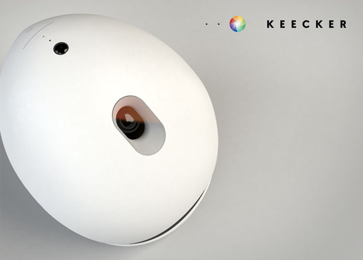 Keecker Android Powered Home Robot