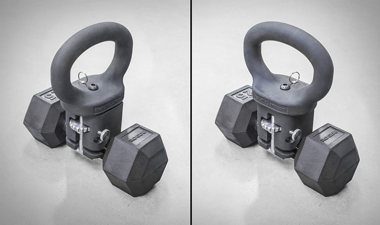 KettleClamp Adjustable Kettlebell