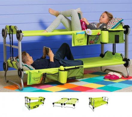 sports shoes 8296d 45284 Kid-O-Bunk: Portable Bunk Beds For Camping, Also Converts Into a Sofa