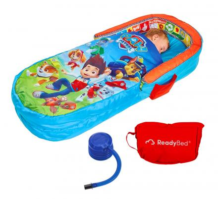 Kids All-In-One Inflatable Sleeping Bag Bed Is Perfect For Sleepovers or Camping