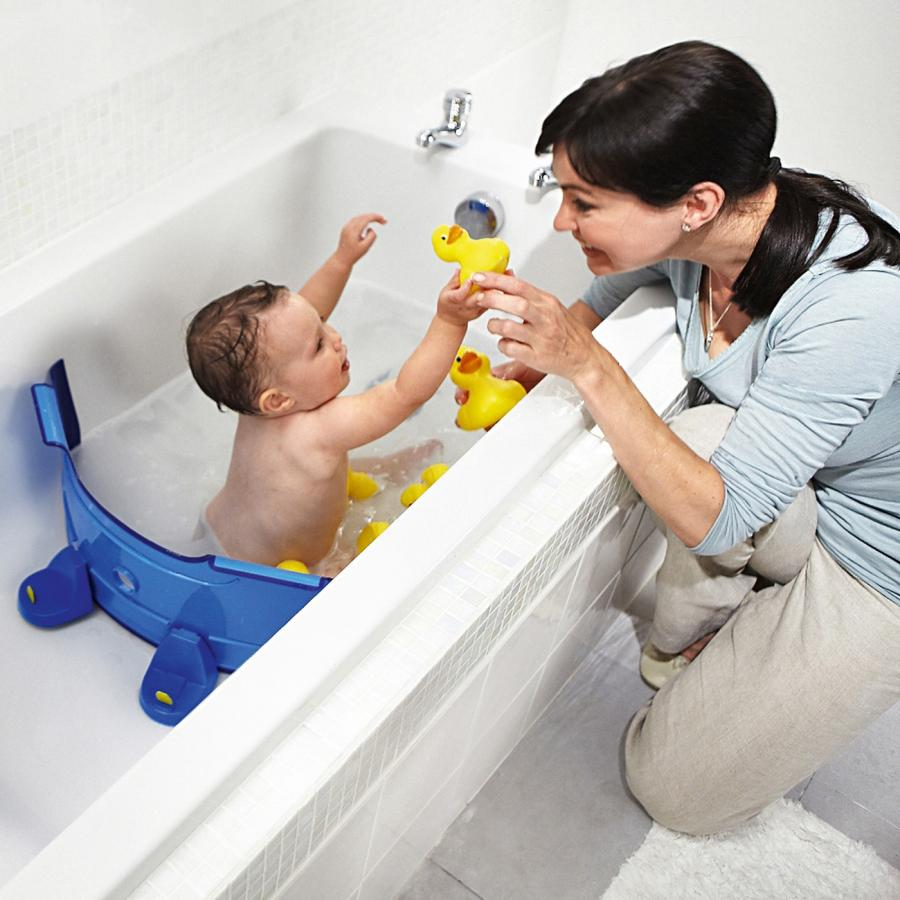 Baby Dam: A Bathtub Water Divider That Saves Water While Bathing ...