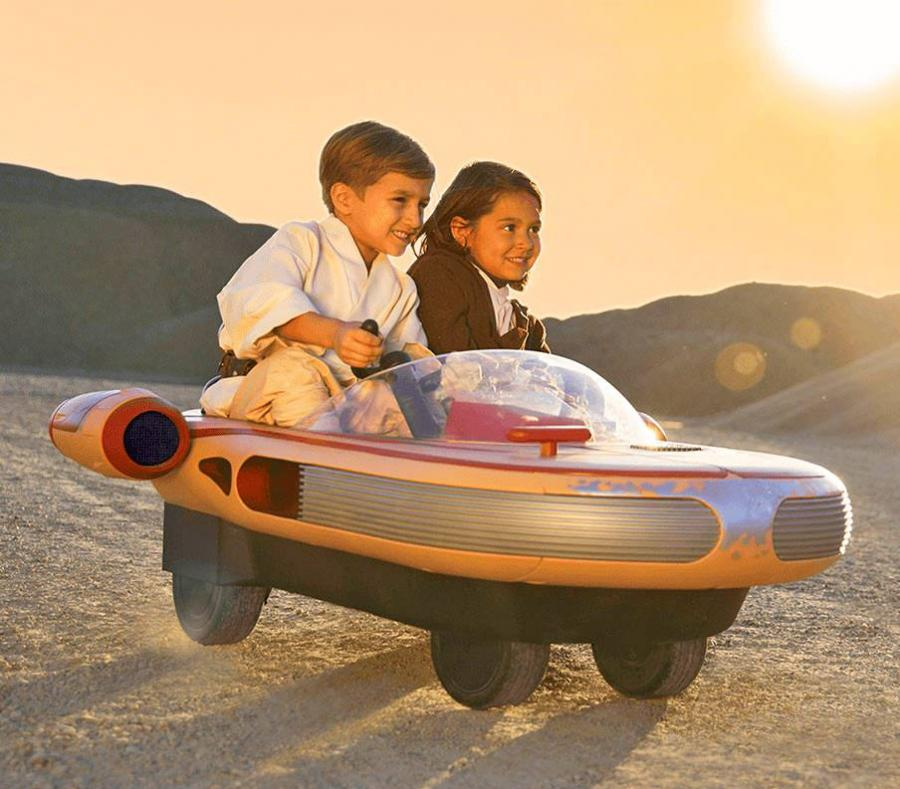 Kids Ride On Stars Wars Landspeeder Electric Toy Car