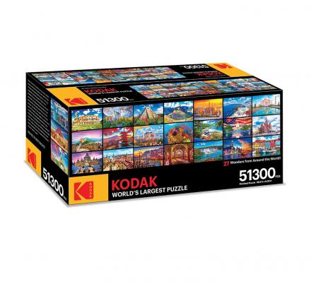 Kodak Has Released a 51,300 Piece Jigsaw Puzzle That Should Keep You Busy All Quarantine