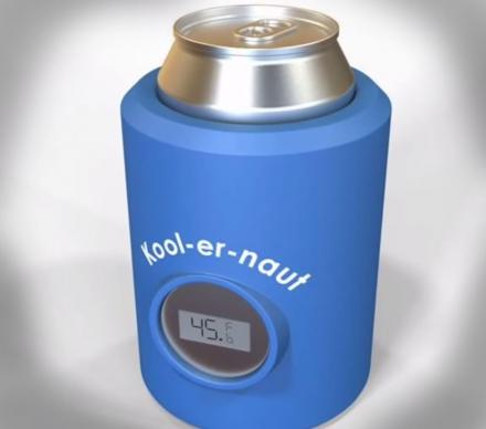 Koolernaut Is a Beer Koozie With A Thermometer