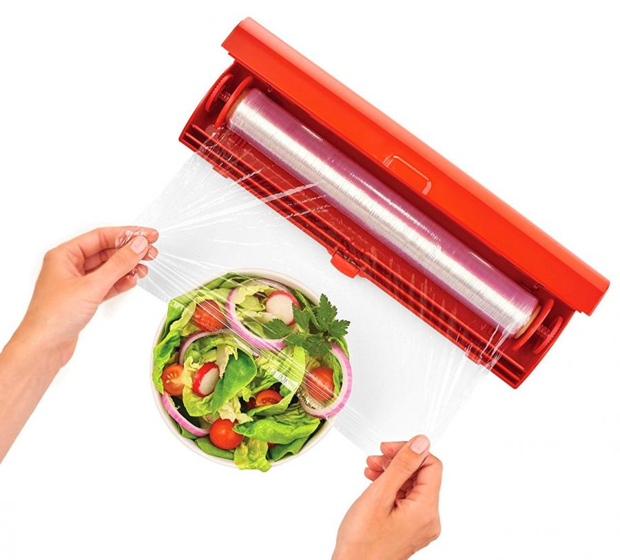 Kuhn Rikon Fast Wrap The Easiest Way To Use Plastic Wrap