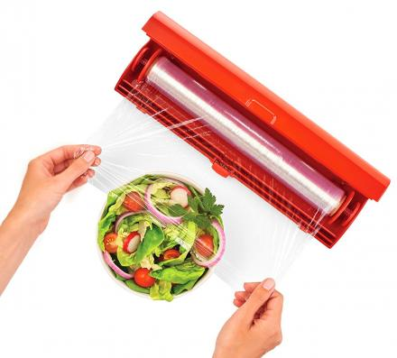 Kuhn Rikon Fast Wrap - The Easiest Way To Use Plastic Wrap