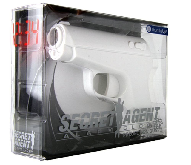 Laser Gun Projection Alarm Clock