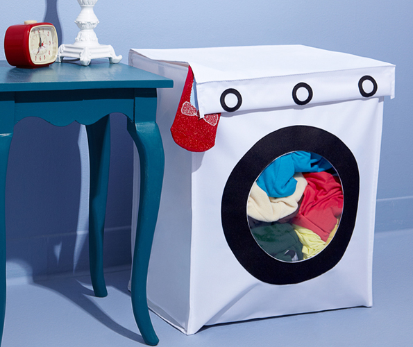 Washing Machine Shaped Hamper