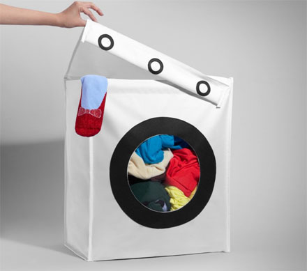 Laundry Machine Shaped Hamper