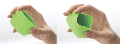 Leaf Shaped Silicone Pocket Cup 4