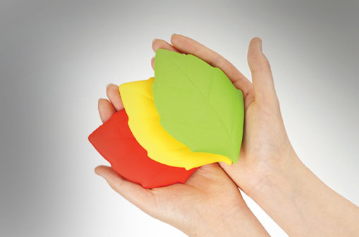 Leaf Shaped Silicone Pocket Cup 5
