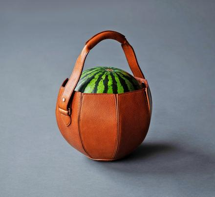 There's Now a Leather Bag That's Specifically Made For Carrying Watermelon