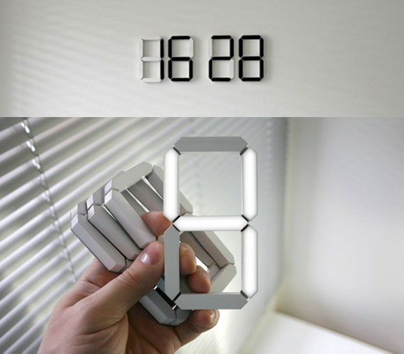 Digital Wall Clock for Home