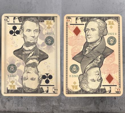 Legal Tender Playing Cards - Playing Cards Inspired By World Currencies