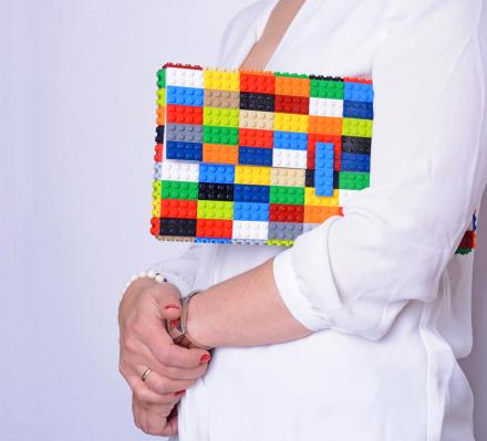 LEGO Bags: Purses and Handbags Made From Actual LEGOs
