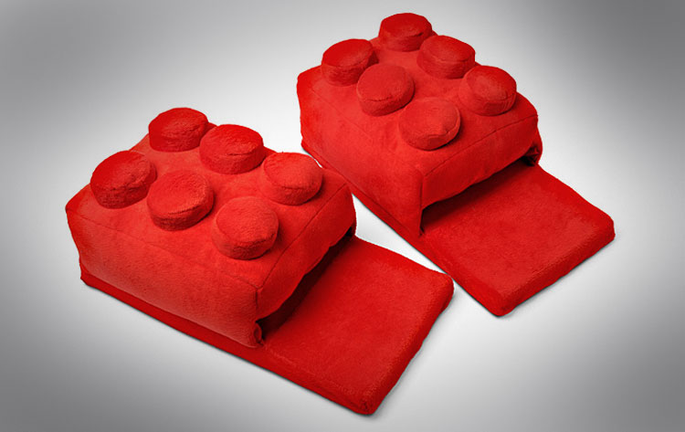 Lego Slippers - Building Block Slippers