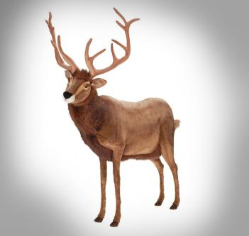 Lifesize Animated Talking Reindeer