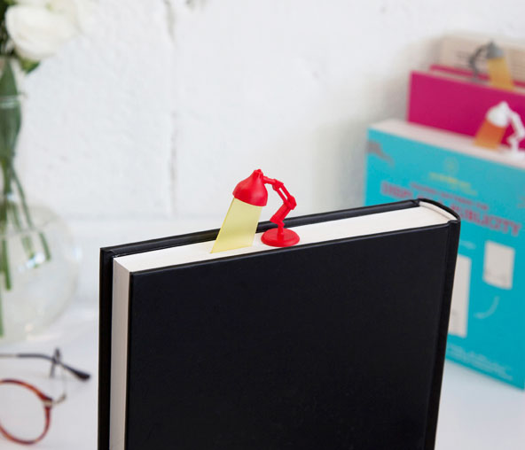 Lightmark: A Bookmark Shaped Like a Reading Light