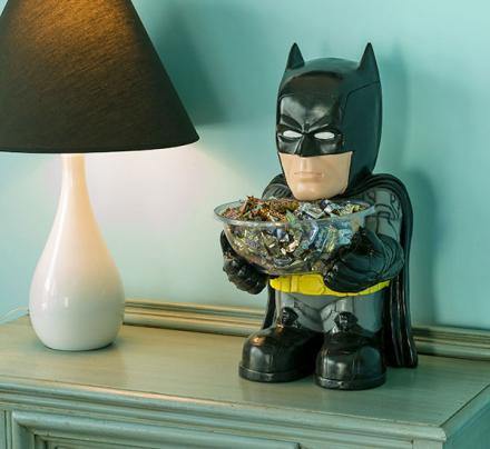 Little Mini Batman Standing Candy Bowl