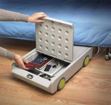 Lock And Roll Under Bed Personal Safe