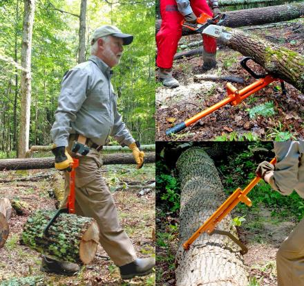 LogOX 3-in-1 Back-Saving Forestry Multi-tool