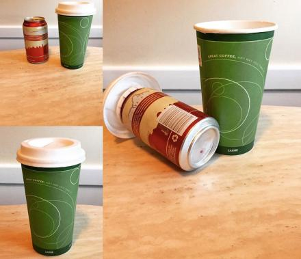 Lolo Lids: A Stealth Beer Koozie That Makes It Look Like Coffee