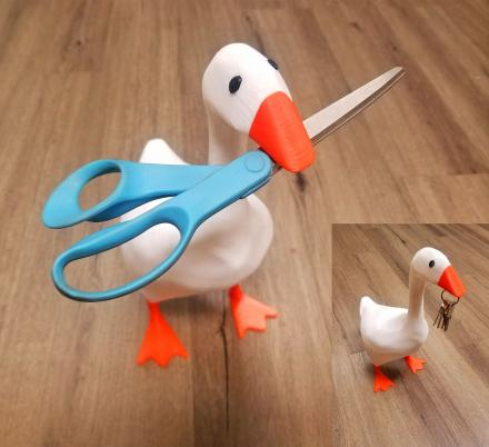 This Magnetic Goose Is Here To Give You a Hand Around The House