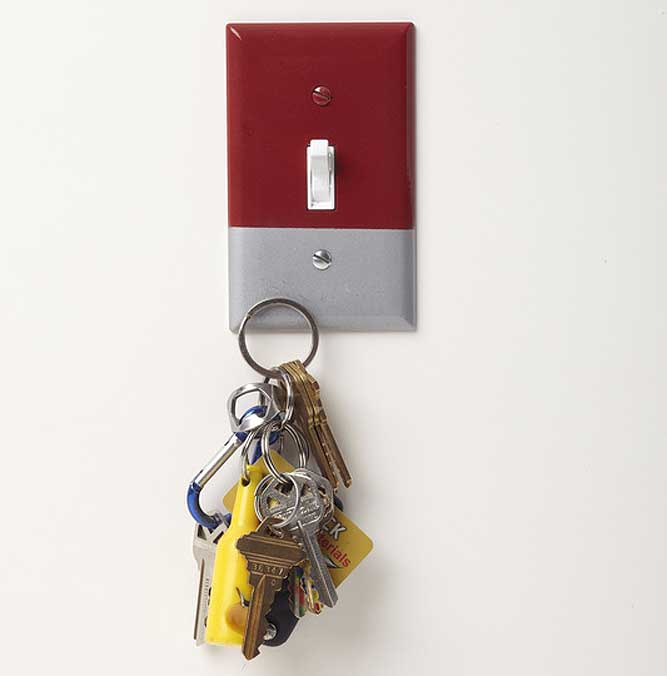 Magnetic Light Switch Plate Cover