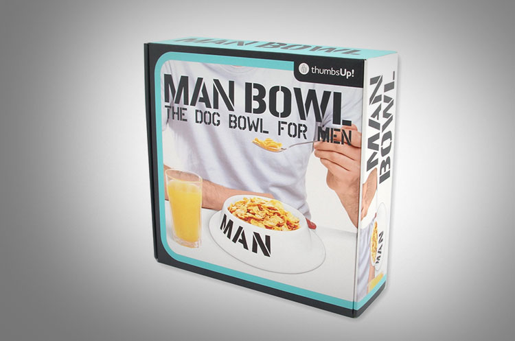 Man Bowl The Human Dog Bowl