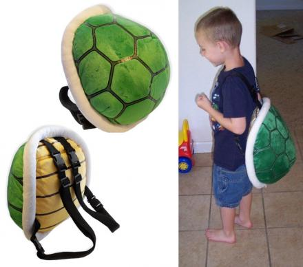 Mario Bros Koopa Shell Backpack