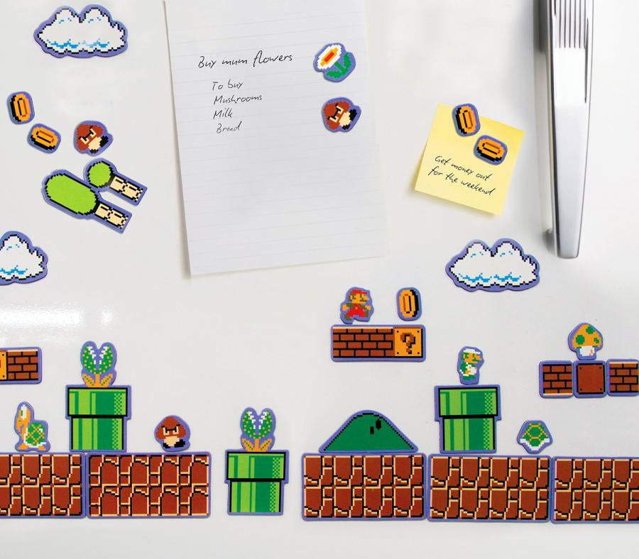 Mario Fridge Magnets Nes
