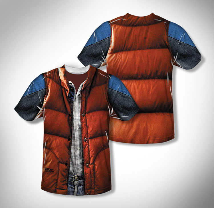 Marty Mcfly Vest Costume T Shirt