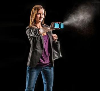 Mace Spraying iPhone Case