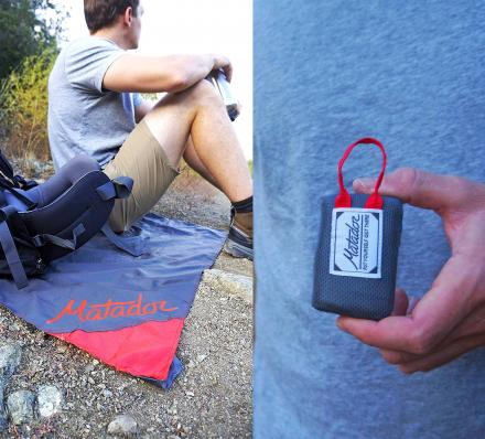 Matador Key-Chain Blanket - Unfolds Into a Full Blanket