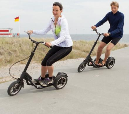 Me-Mover: Human Powered Step Driven Scooter