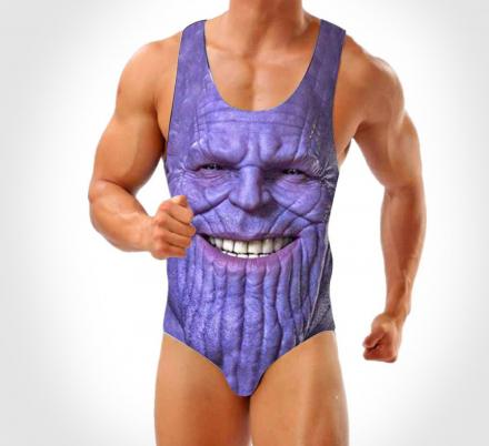 There's Now a Men's One-Piece Thanos Swimsuit That Exists