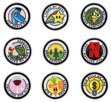 There Are Now Merit Badges For Adults, Because Adulting Is Hard