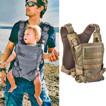 Military Grade Baby Carrier With MOLLE Straps