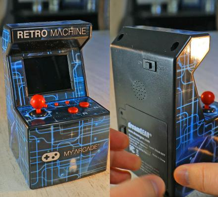 Mini Arcade Machine Has 200 Pre-Installed Nostalgic Video Games