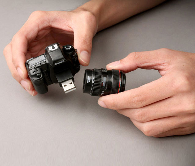 Mini Camera Shaped Flash Drive